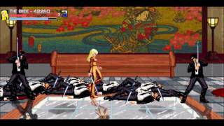 Kill Bill Re-Imagined as a Retro Side-Scrolling Beat-em-up!