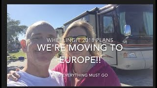 We're Moving to Europe!!