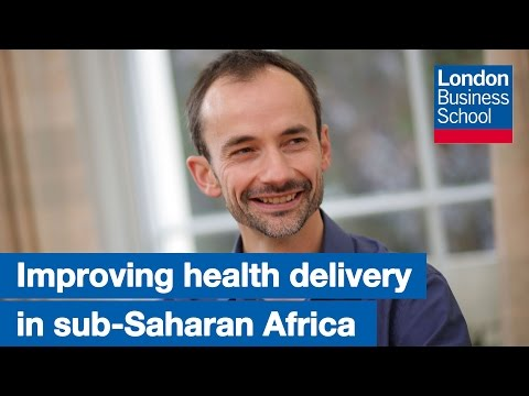 Faculty Lecture: Improving health delivery in sub-Saharan Africa