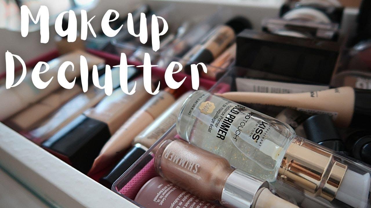 Makeup Declutter #5 Curățenie și reorganizare în colecția de produse de machiaj