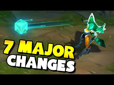Top 7 MAJOR Changes Coming To League of Legends! thumbnail