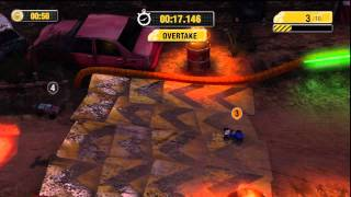 "Motorstorm RC PS3/Vita Gameplay HD - ""Night Clubbed"" Overtaking Challenge"