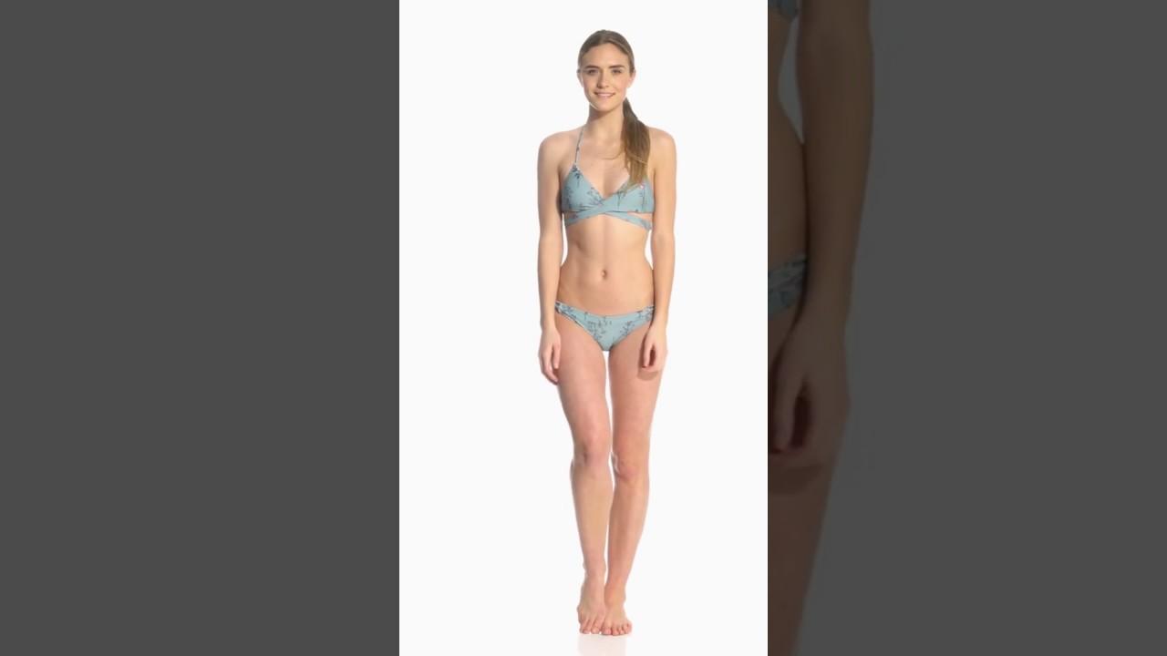 501713d804 O'Neill Piper Floral Cut Out Hipster Bikini Bottom | SwimOutlet.com ...