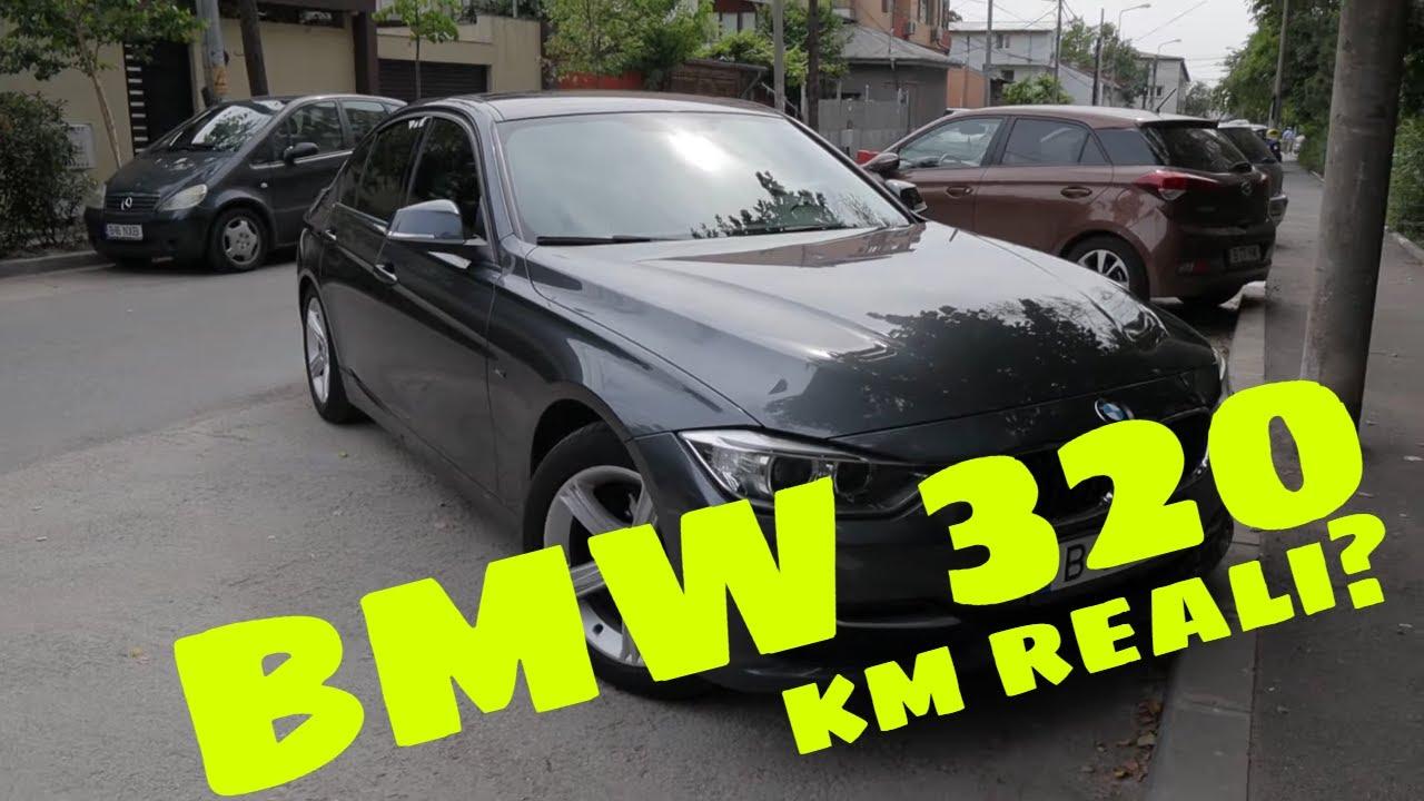 Asa mi-am dat seama ca acest  BMW 320 second hand are km reali!