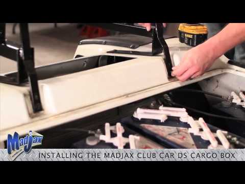 Cargo Box For Club Car® DS® | How To Install Video | Madjax® Golf Cart Accessories