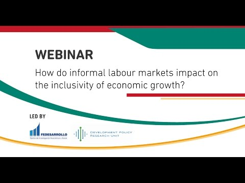 WEBINAR: How do informal labour markets impact on the inclusivity of economic growth?