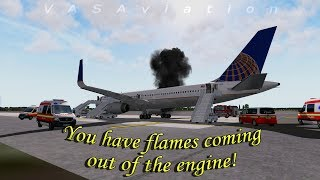 [REAL ATC] United B757 suffers ENGINE FIRE departing from Newark!