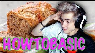 How To Make Banana Bread Reaction | HowToBasic | Реакция на HowToBasic | Хаутубасик