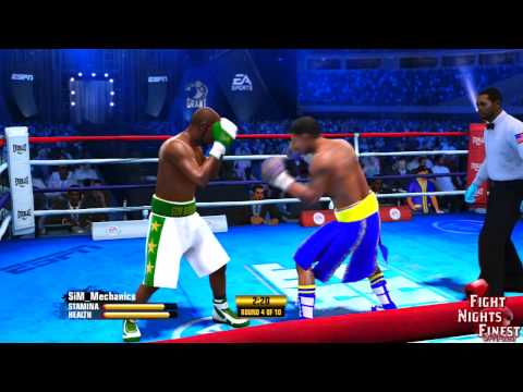 Fight Night Champion Online Match - The Different Player Levels On FNC