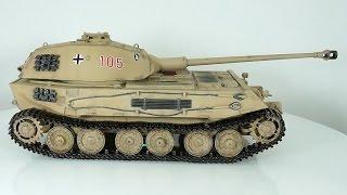 обзор масштабная модель бронетехника vk 45.02 (p) - 1:35 (hobby boss) Modelling
