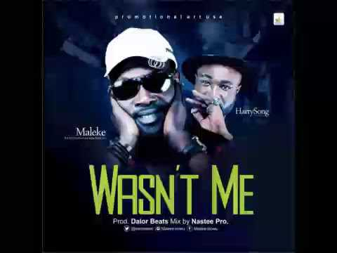 Maleke ft Harry Song - Wasn't Me [OFFICIAL]