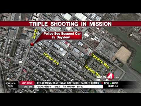 Three Shot in the Mission District of San Francisco