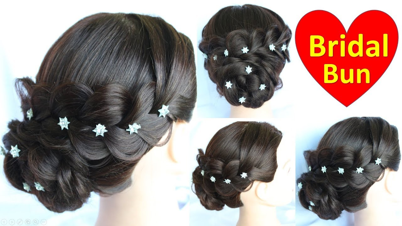 bridal hairstyle for girls || natural hair styles hair design