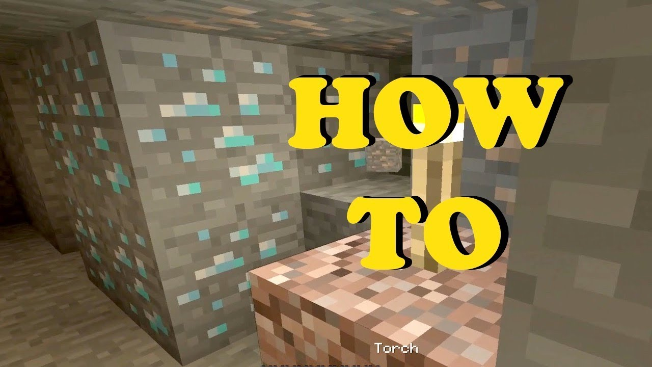 Best Way To Find Diamonds In Minecraft Ps4 Youtube