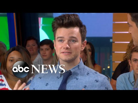 Catching up with Chris Colfer live on 'GMA'