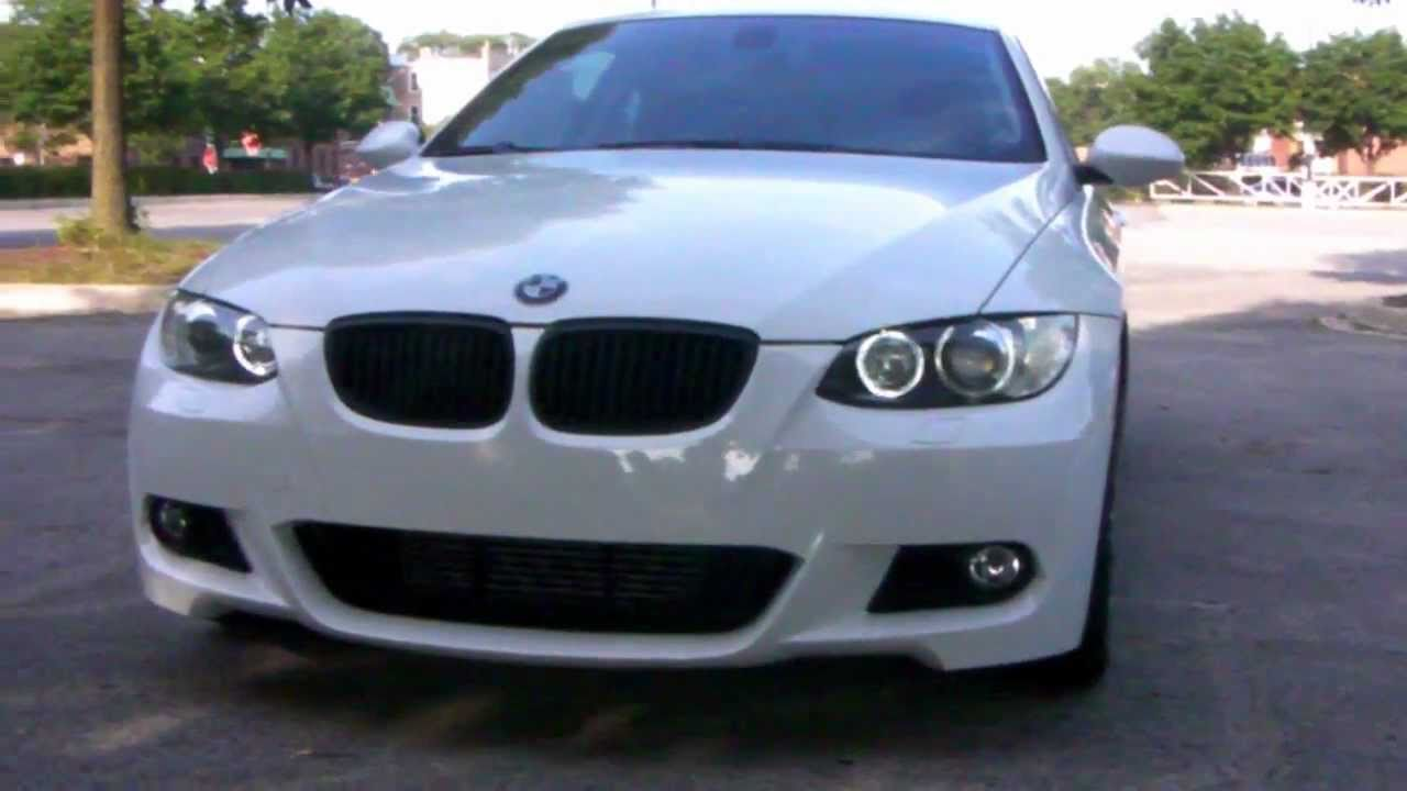 Bmw 335xi M Sport >> MTech Front Bumper installed (335i) - YouTube