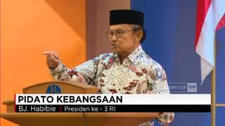 Pidato Kebangsaan BJ Habibie