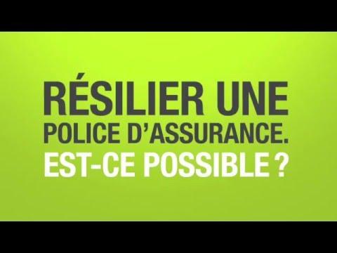 Comment résilier une police d'assurance?