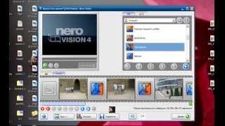 Создать из фото слайд шоу. Nero Vision