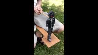 dancing black face doll. circa 1980