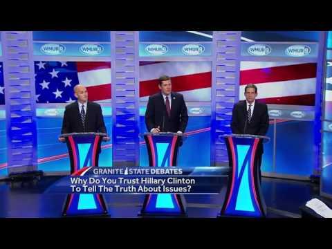 2016 Democratic gubernatorial debate: Why trust Hillary Clinton?