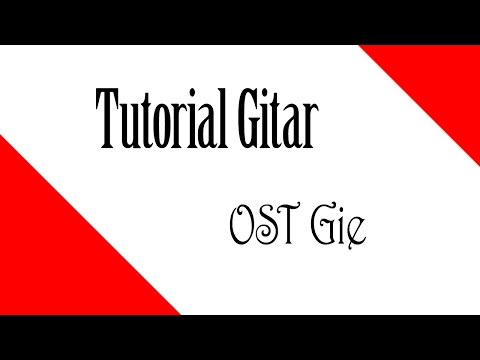 TUTORIAL GITAR GIE - Eross feat Okta Karaoke | Version 2