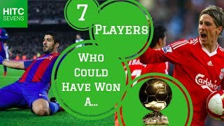 7 Footballers Who'd Have Won a Ballon d'Or Without Ronaldo and Messi