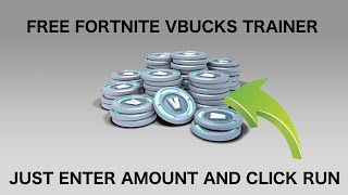 Free Fortnite V-Bucks Generator (Trainer) 2019 (NO SURVEY)