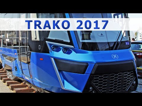 Kolej 2017: wagony, lokomotywy i tramwaje / Trains 2017: wagons, locomotives, trams