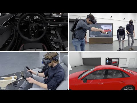 Das AUDI Holodeck - Engineering in 3D Virtual Reality
