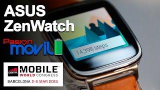Asus ZenWatch en el Mobile World Congress 2015!