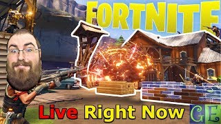 Fortnite Save the World Online PC Gaming Live Stream Right Now
