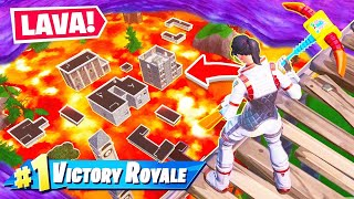 FLOOR IS LAVA LTM *NEW* Game Mode in Fortnite Battle Royale