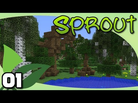 Sprout - Ep. 1: What a Wonderful World | Minecraft Modded Survival RPG