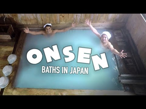 Japanese Onsen Bath Experience ★ ONLY in JAPAN