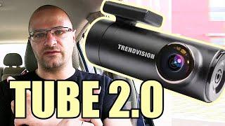 Видеорегистратор TrendVision Tube 2.0 - Wi-Fi, 2K, Парковочный режим - Обзор, Распаковка