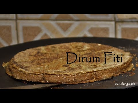 Dirum Fitti, The Sprouted wheat Bread| Hunza Bread Recipes
