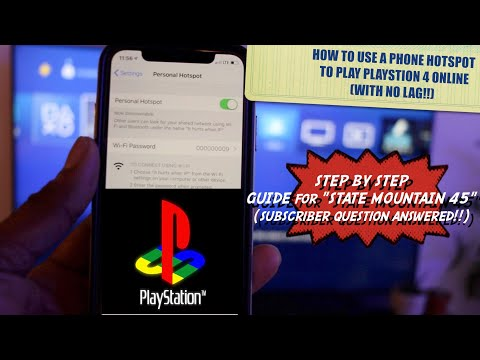 how-to-use-your-phone-hotspot-to-play-playstation-4-online-(with-no-lag!!)-herves-world-episode-296