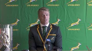 SA Rugby player of the year 2019:  Pieter-Steph du Toit press conference