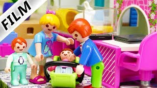 Playmobil Film deutsch   Kleine Schwester für Julian, Hannah & Emma   Zimmer teilen Kinderserie