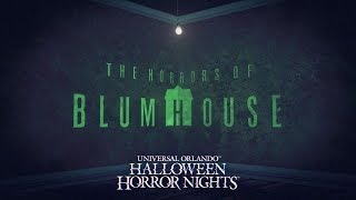 The Horrors of Blumhouse House Reveal | Halloween Horror Nights 2018