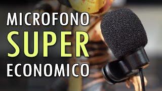 Microfono SUPER Economico per Youtube - Recensione Lavalier Neewer