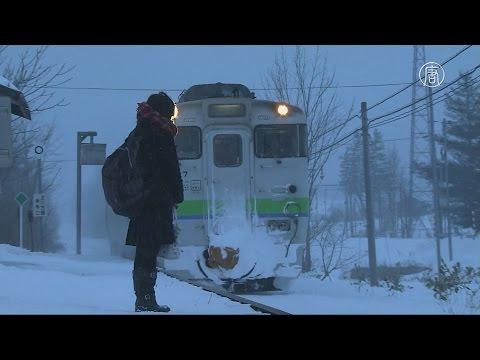 Ж/д-станция в Японии
