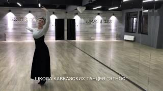 Девушка танцует невероятно! Лезгинка 2018