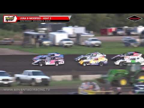 B-Modified Heats - Rapid Speedway - 8/16/19