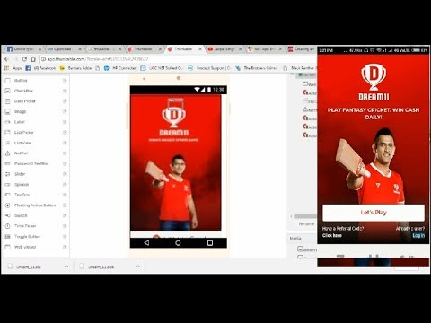 how to convert dream 11 (any) apk to  aia? thunkable create dream 11 app