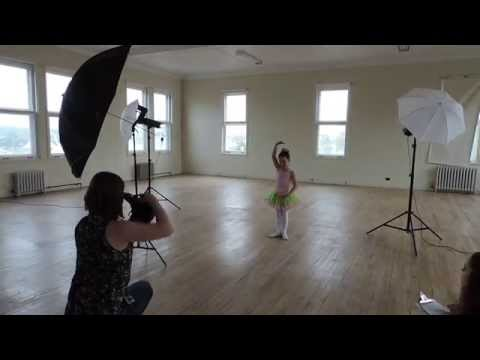 La séance photo d'Ovation Danse