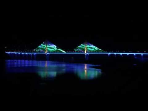 Bridge lighting project in Chongqing City-100K pcs DMX Pixel light