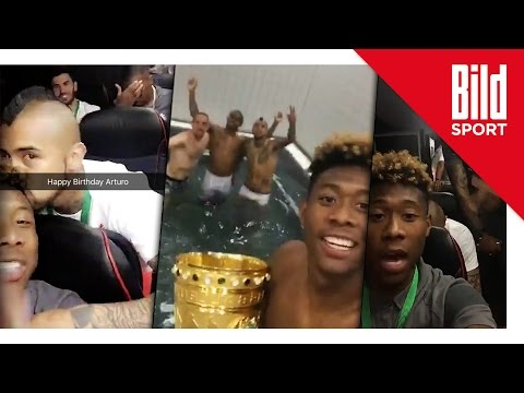 David Alaba und die wilde Bayern-Party