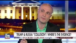 [ Tucker Porn ]   Tucker takes on  Trump Russia collusion allegations
